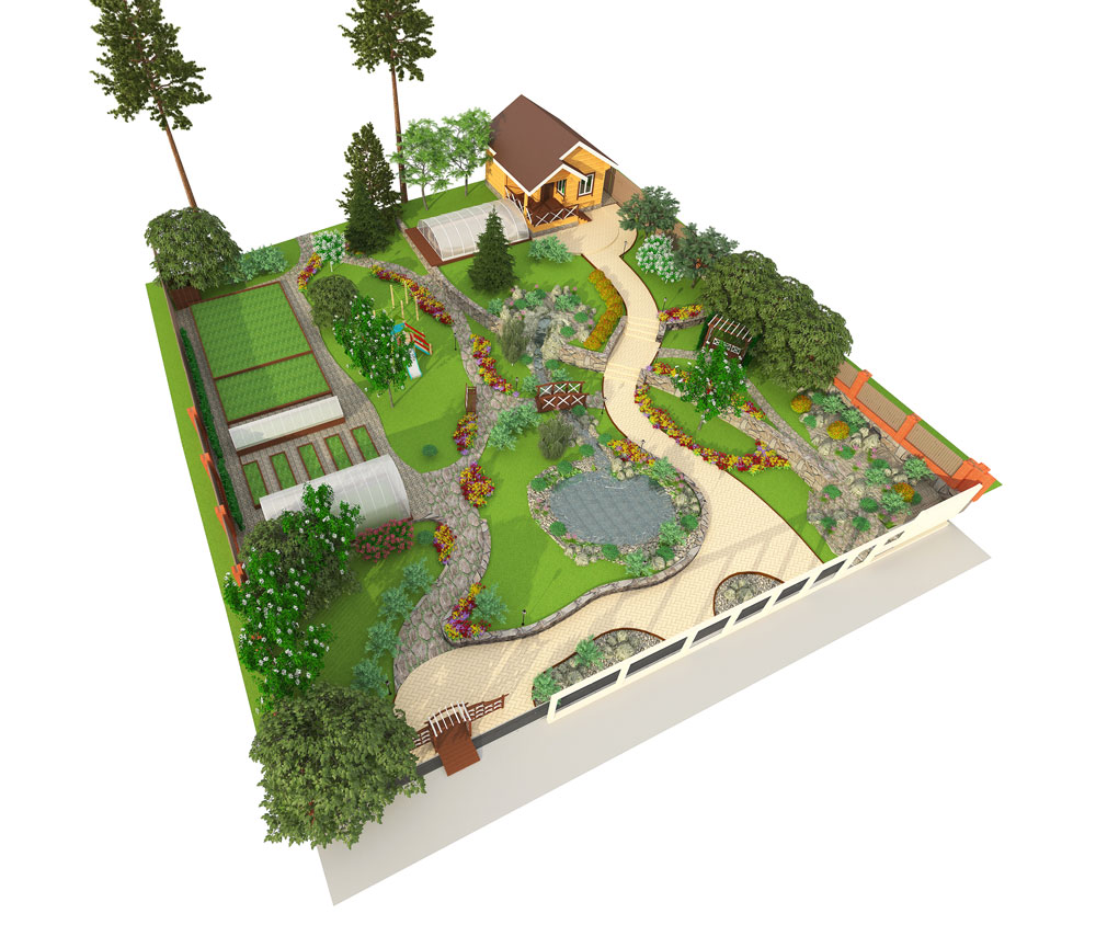 Best 3d Garden Design : Lawn and landscape industry green pro marketing
